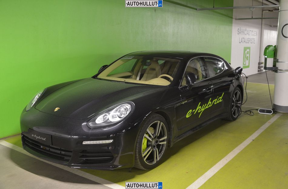 Autohullut Fi Test 2014 Porsche Panamera S E Hybrid