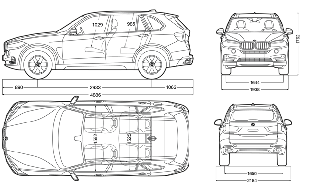 Bmw X5 F15 Dimensions on 2014 audi q5